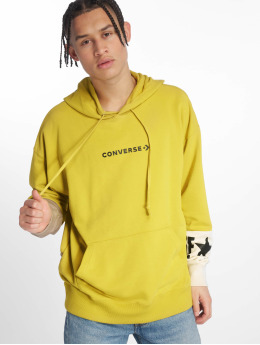 Converse Hoody One Star Block Pack geel