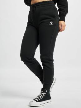 Converse Pantalone ginnico Embroidered Star Chevr nero