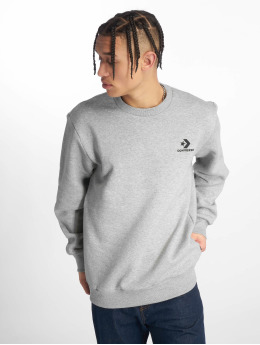 Converse Pullover Star Chevron Embroided gray