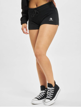Converse shorts Embroidered Star Chevron  zwart