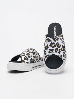 Converse Slipper/Sandaal One Star Sandal Slip  wit