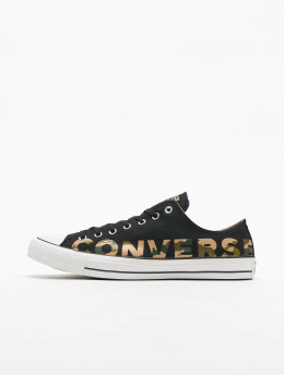 Converse Sneaker Chuck Taylor All Star Canvas Wordmark nero