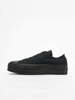 Converse Sneaker Chuck Taylor All Star Clean Lift Ox schwarz
