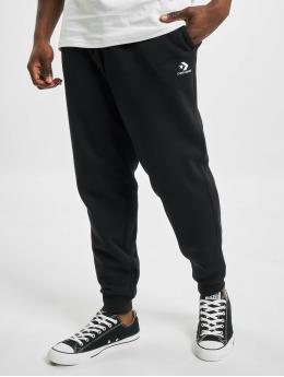 Converse Spodnie do joggingu Embroidered SC czarny