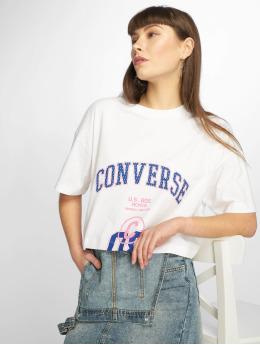 Converse T-Shirt 8 blanc