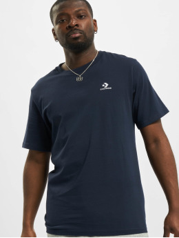 Converse t-shirt Embroidered SC Left Chest blauw