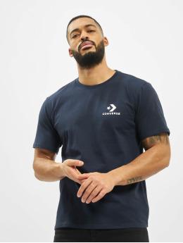 Converse T-Shirt Left Chest Star Chev bleu