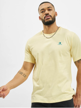 Converse T-Shirt Chevron Left Chest jaune