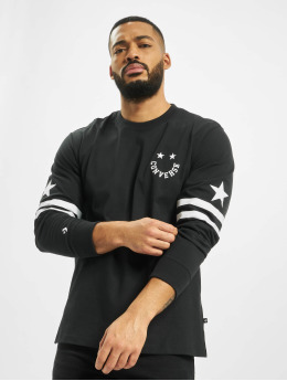 Converse T-Shirt manches longues Twisted Varsity Cut & Sew noir