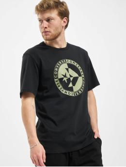Converse T-shirt Checkered Star Chevron svart