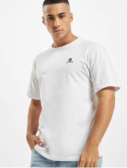 Converse T-Shirt Embroidered Star Chev Left Chest white