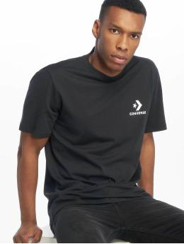Converse t-shirt Left Chest Star Chevron zwart