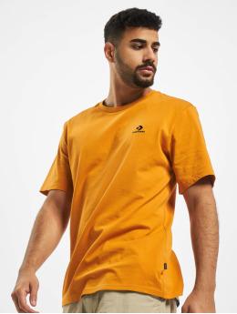 Converse T-skjorter Embroidered SC Left Chest oransje