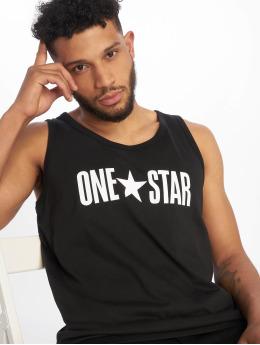 Converse Tank Tops One Star musta