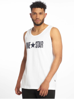 Converse Tank Tops One Star white