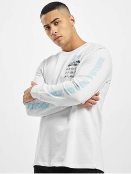 Criminal Damage Camiseta de manga larga Cd Time Code blanco
