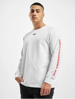 Criminal Damage Camiseta de manga larga Cd Trespassing  blanco