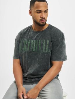 Criminal Damage Camiseta Cd Nirvana  negro