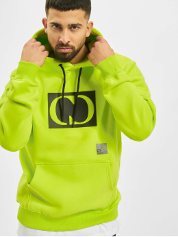 Criminal Damage Hoodie Strasse Oversize green