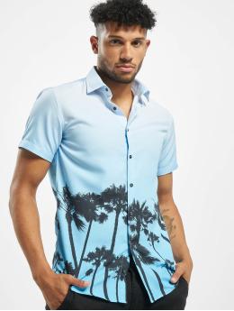 Criminal Damage Koszule Palm Tree niebieski