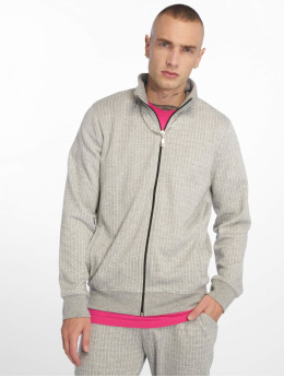 Criminal Damage Lightweight Jacket Pinstripe gray