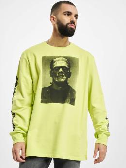 Criminal Damage Maglietta a manica lunga Cd Frankenstein giallo