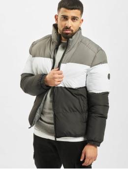 Criminal Damage Puffer Jacket Lyon black