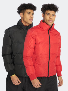 Criminal Damage Puffer Jacket Metro schwarz