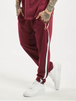 Criminal Damage Spodnie do joggingu Wise  czerwony