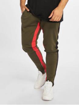 Criminal Damage Spodnie do joggingu Roman oliwkowy