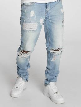 Criminal Damage Straight Fit Jeans Carter blau