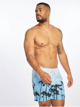Criminal Damage Swim shorts Palm blue