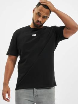 Criminal Damage T-Shirt Cd Bandana Panel  black