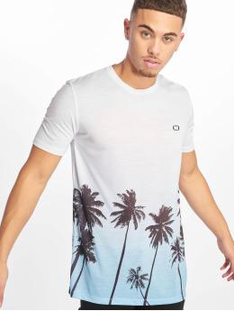 Criminal Damage T-Shirt Palm Tree blue