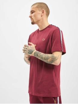 Criminal Damage T-Shirt Wise  rouge