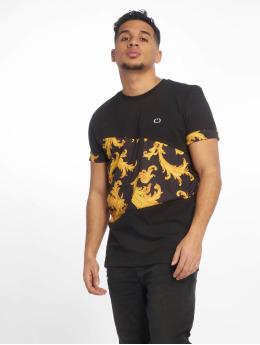 Criminal Damage t-shirt Damage Rococo zwart