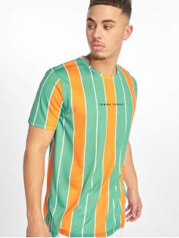 Criminal Damage T-shirts Royston grøn