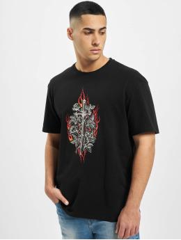 Criminal Damage T-skjorter Cd Dagger svart