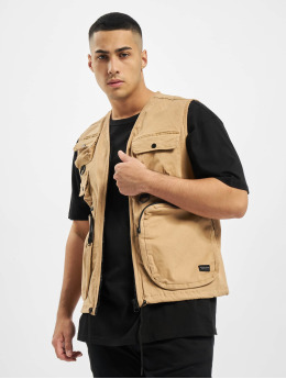 Criminal Damage Vest Cd Cargo beige