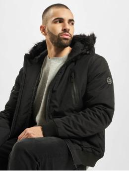 Criminal Damage Winter Jacket Bronn  black
