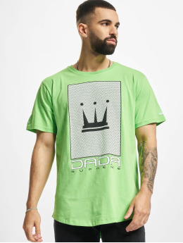 Dada Supreme T-Shirt Mesh Crown grün