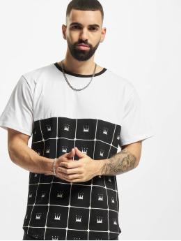 Dada Supreme T-Shirt Crown Pattern weiß