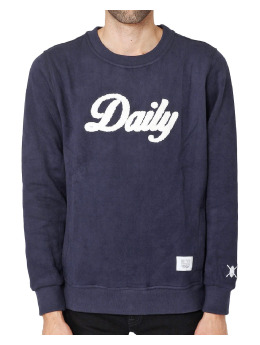 Daily Paper Pullover Paper Navy Daily blau