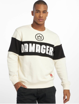 Damagers Pullover High Contrast weiß