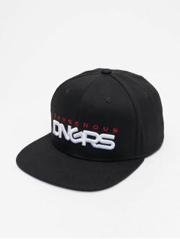 Dangerous DNGRS Кепка с застёжкой Base черный