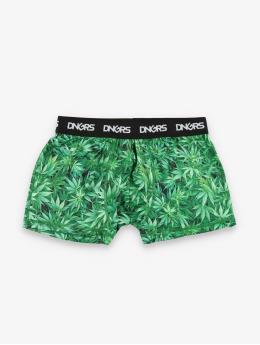 Dangerous DNGRS  Shorts boxeros Weed  verde