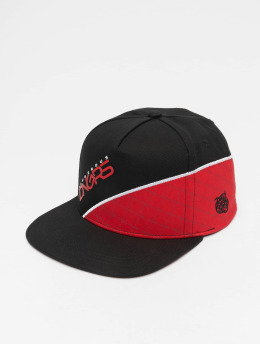 Dangerous DNGRS Woody Snapback Cap Red/Black