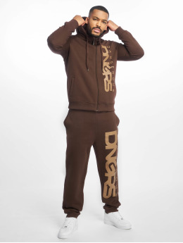 Dangerous DNGRS Classic Sweat Suit Brown