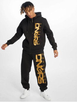 Dangerous DNGRS Classic Sweat Suit Black Yellow