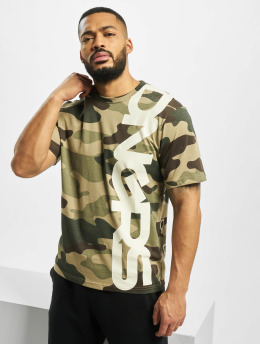 Dangerous DNGRS Camiseta Classic  camuflaje